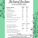 Catering Menu Now Available Photo