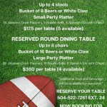 Saints Football Watch Parties Available in Sept.! Photo
