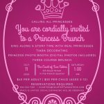 Second Seating Now Available for Princess Brunch! Photo
