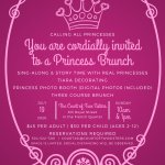 July 19 Princess Brunch now taking reservations! Photo