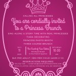 Join us for a Princess Brunch! Photo