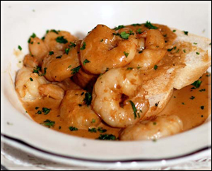 Court of Two Sisters Barbecue Shrimp